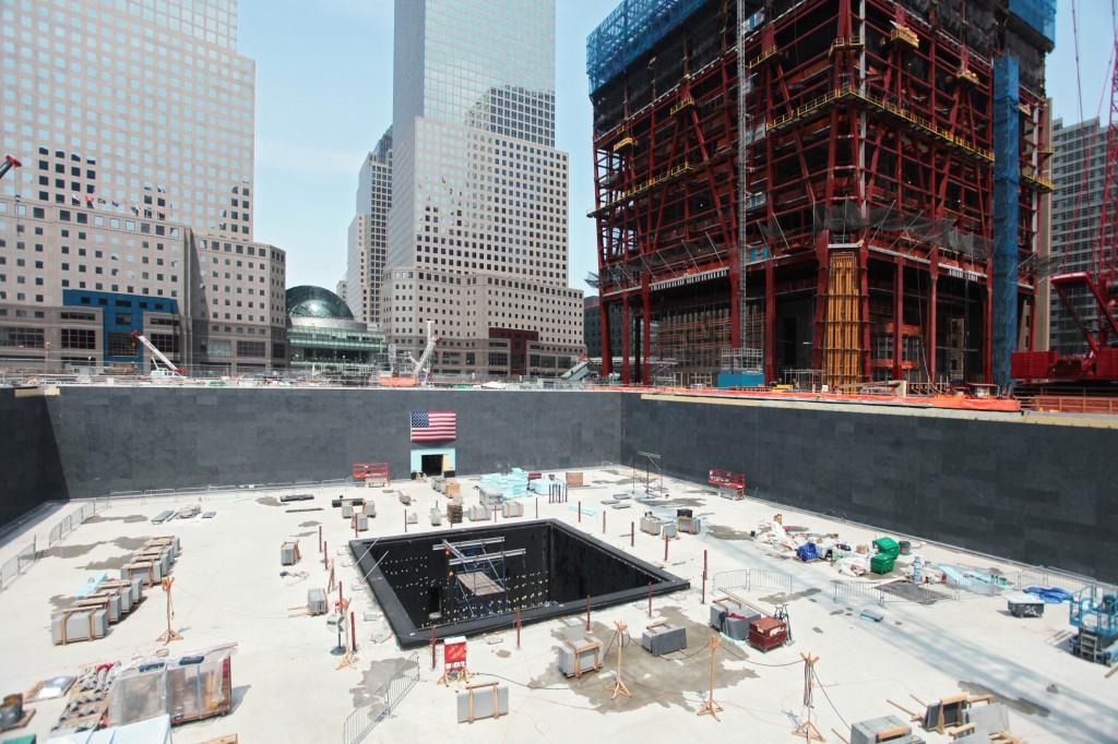 Memorial pools national september 11 memorial museum for Pool trade show new york