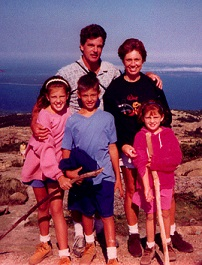 Orio, Debbie, Dana, Alyssa and Keith Palmer. Courtesy of Voices of September 11th, The 9/11 Living Memorial Project.