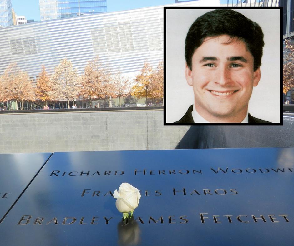 Remembering Bradley Fetchet at the 9/11 Memorial   National September 11  Memorial & Museum