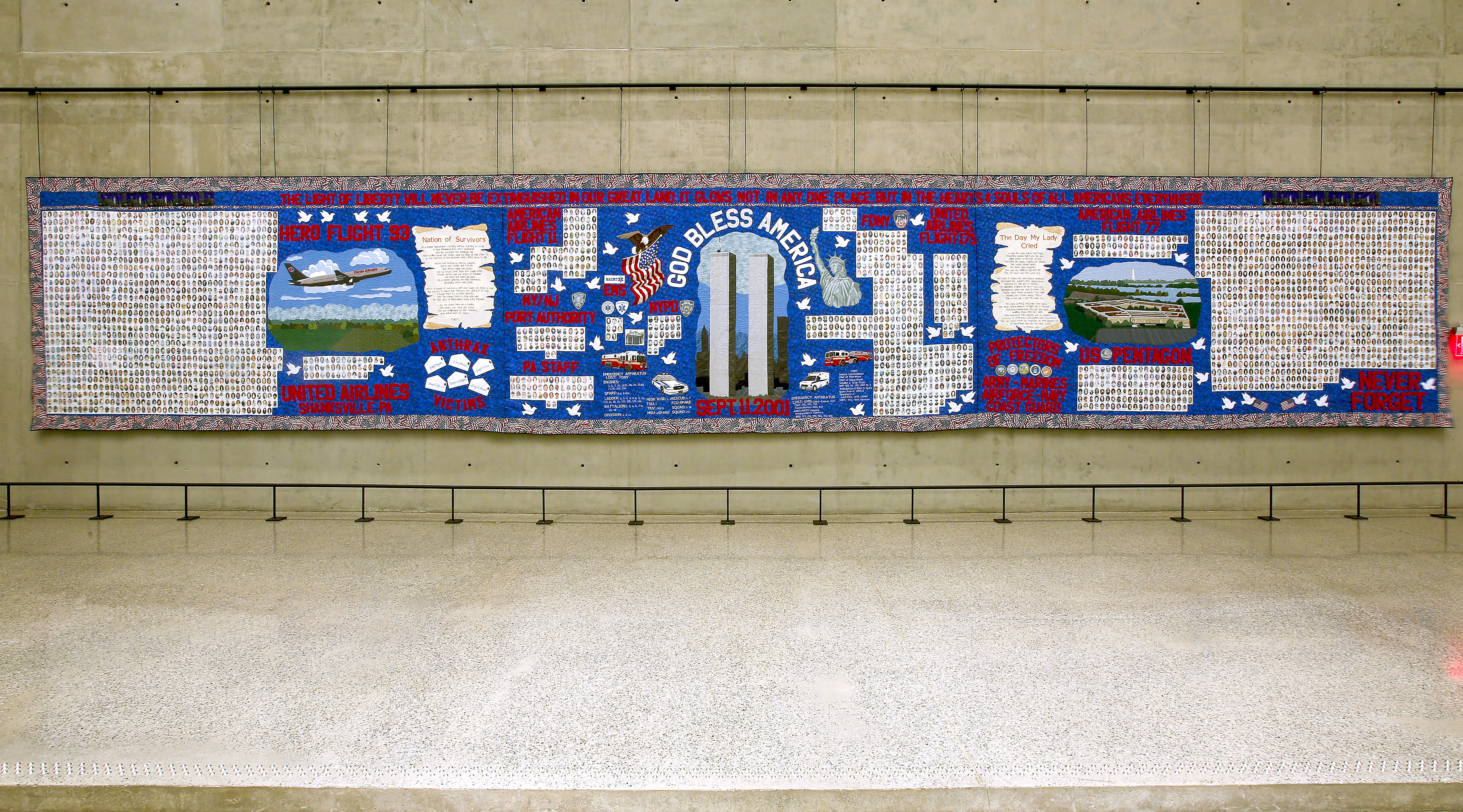 Navigate to Victims' Memorial Quilt Retires for Preservation  page