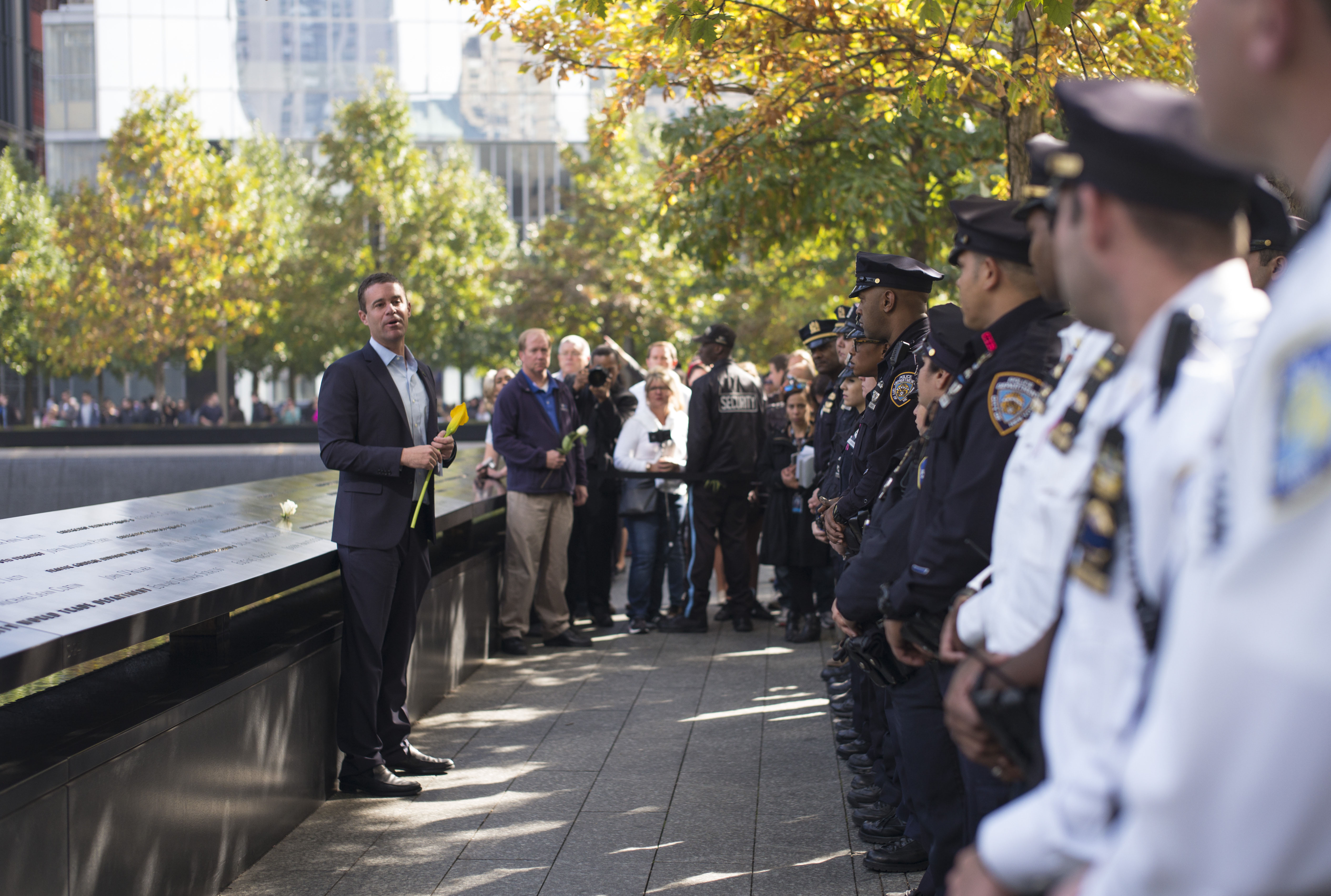 Navigate to 9/11 Memorial Honors Slain NYPD Officer Randolph Holder page