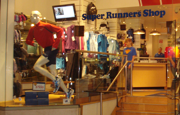 Super Runners Shop Earns Signs of
