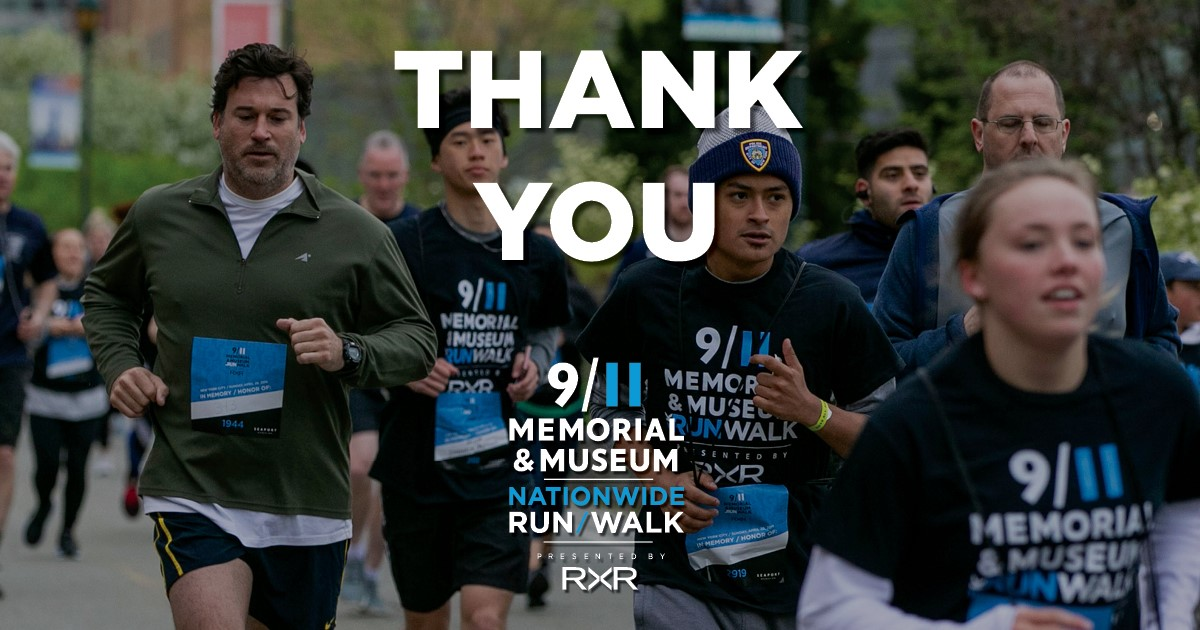 Navigate to 9/11 Memorial Achieves Its 20,000 Mile Goal for the Nationwide Run/Walk page